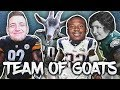 FULL TEAM OF GOATS!