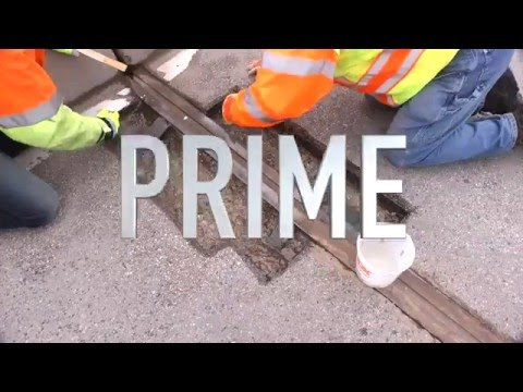 T17 Rapid Patch MMA Polymer Concrete Application Video