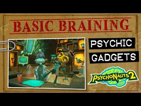 В новом видео по Psychonauts 2 разработчики рассказывают о гаджетах главного героя