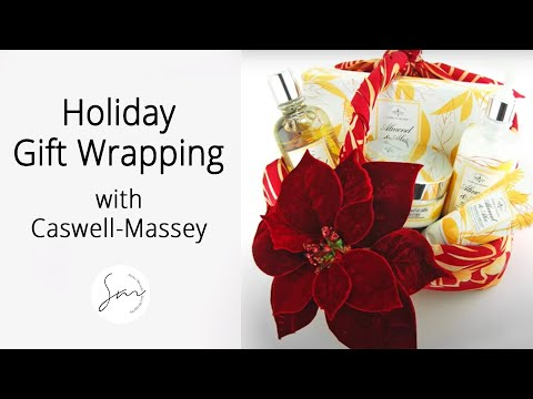 Download Holiday Gift Wrapping with Caswell-Massey (6 Creative Gift Wrapping Ideas!)