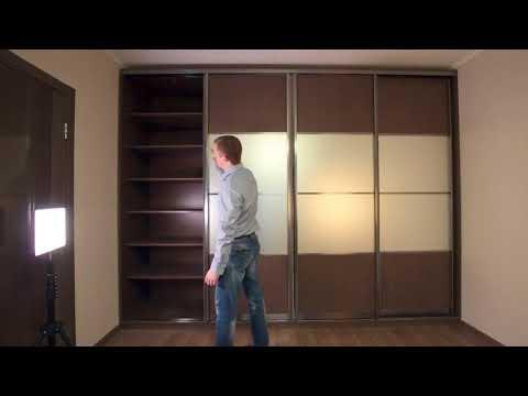 Функциональный и недорогой шкаф-купе в однокомнатную квартиру дом П-44