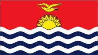 Kiribati Flag and Anthem