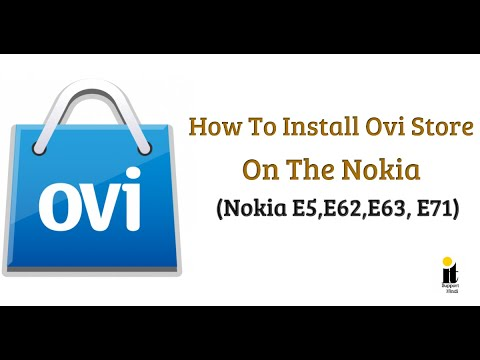 How To Install Ovi Store On The Nokia E5, E62, E63, E71