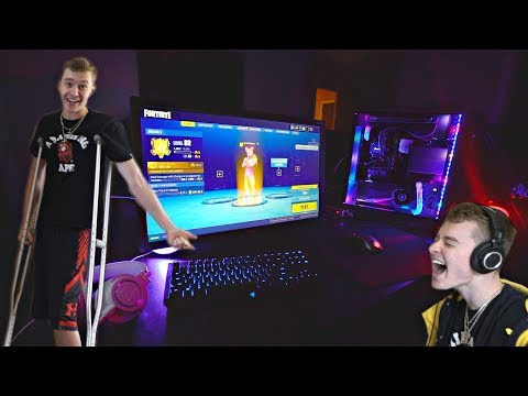 NEW CRAZY GAMING SETUP & TROLLING FAZE BLAZE!