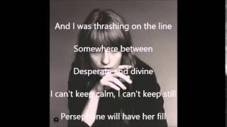 Caught Florence + The Machine lyric video