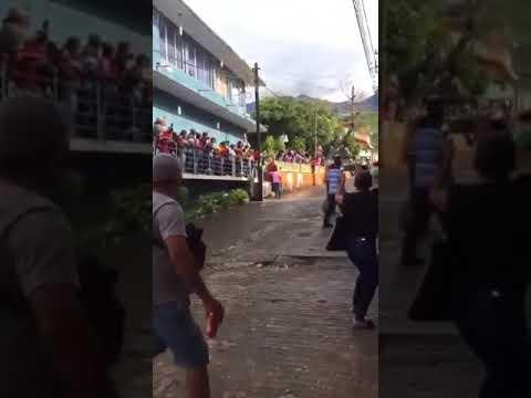 Accidente en el pendon de chichihualco 2018