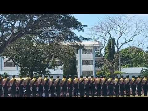PARTIDO MISSION ACADEMY PATHFINDER UNIT FANCY DRILL(AUP CHAMPOREE  PATHFINDER STRONG)