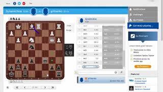 Блиц онлайн -  пробую chess24