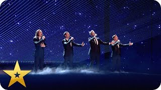 Collabro's breathtaking rendition of 'Who Wants To Live Forever' | BGT: The Champions