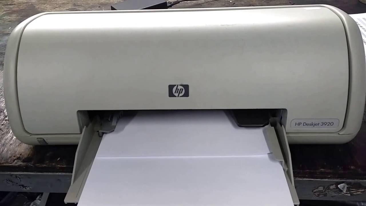 DRIVERS HP PRINTERS 3920 DESKJET