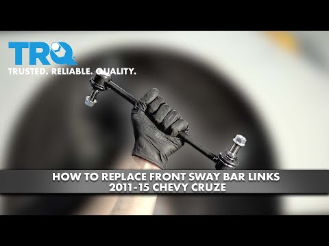 How To Replace Front Sway Bar Links 11-15 Chevy Cruze