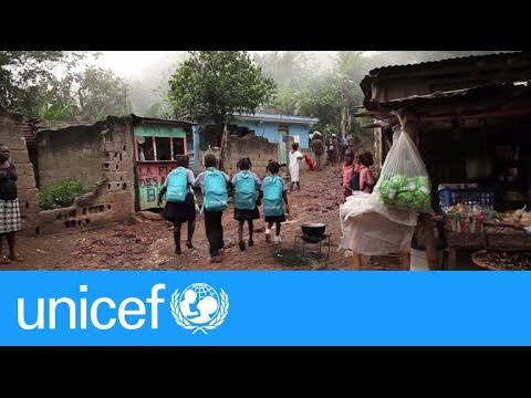 New school in Haiti's mountains inspires children to learn | UNICEF