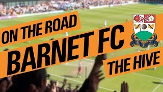 on the road barnet fc the hive