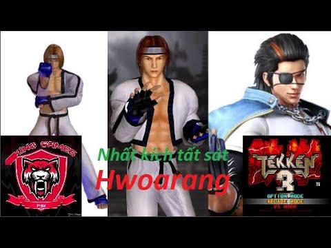 Hwoarang Với Môn Võ Taekwondo Phá đảo Game Tekken 3 | Destroy The Game Tekken 3 PS1 With Hwoarang