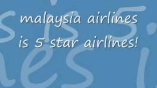 malaysia airlines(theme song)