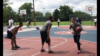 Professor hoopin in the hood North Philly and in Maryland ft. Pat The Roc and AO thumbnail