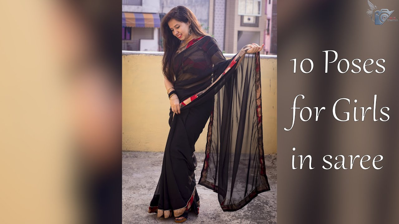 Download 10 Poses for girls in saree😍    Traditional    Must watch video   