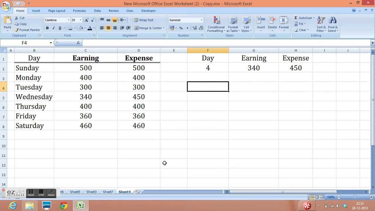 Offset Function in Excel with easy example  Step by Step