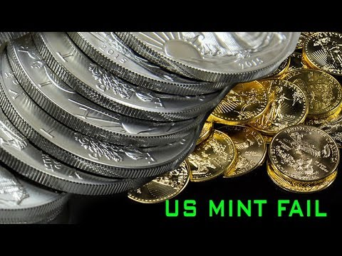 U.S. Mint Fail At Combating Gold & Silver Bullion Fakes