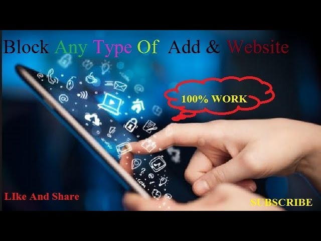 How To Block Any Type Of Ads & Website || On Anodroid Mobile Or Computer(Pc) / 100% Working #1