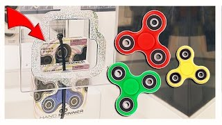 I WON FIDGET SPINNERS FROM KEYMASTER! || Arcade Games