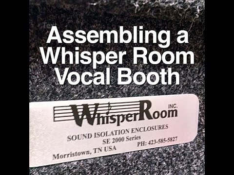 Assembling a Whisper Room Vocal Booth