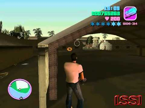 GTA Vice City. How to steal a military helicopter (Hunter)