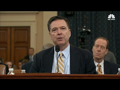 FBI Director James Comey testimony - Uncle Hotep chimes in
