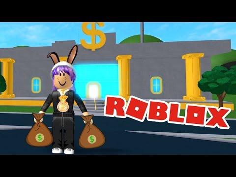 ROBBING A BANK OBBY IN ROBLOX   MO MONEY!   RADIOJH GAMES
