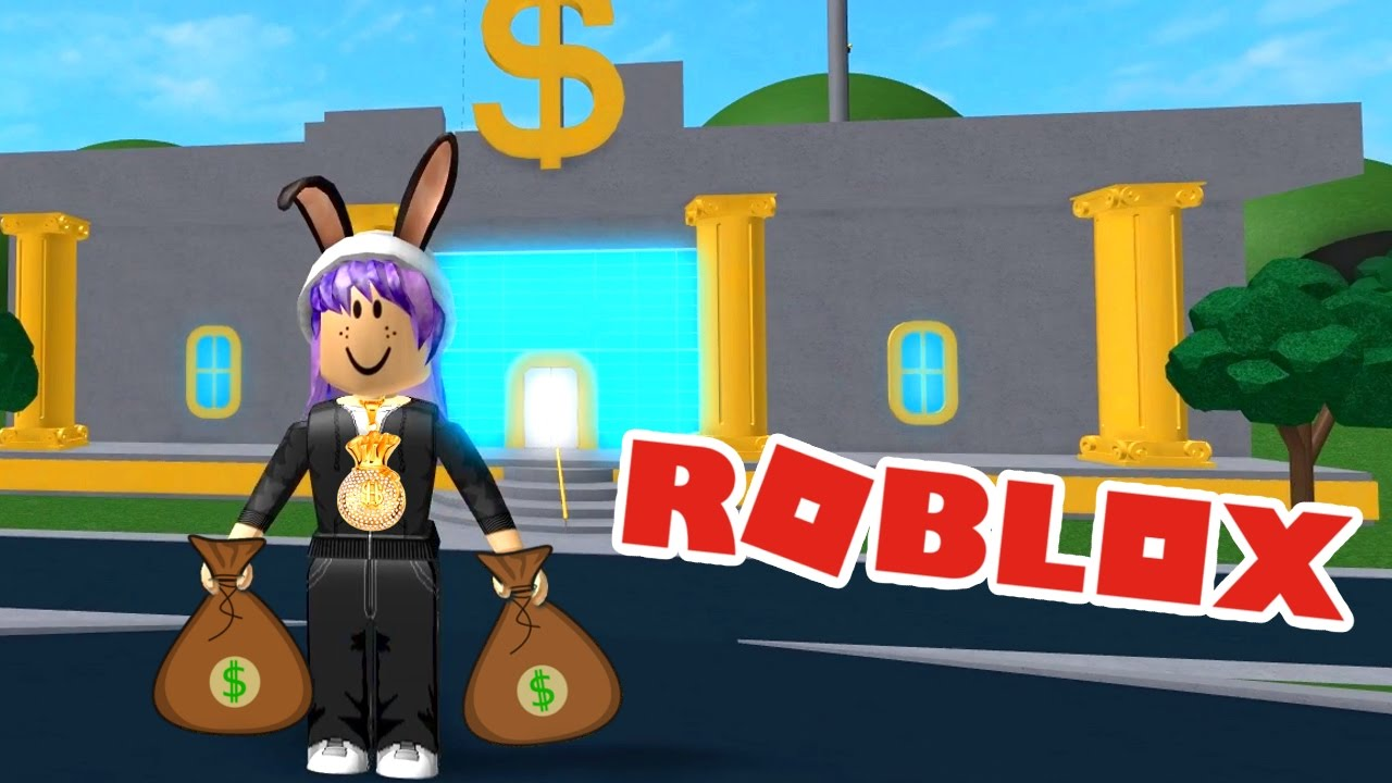 ROBBING A BANK OBBY IN ROBLOX | MO MONEY! | RADIOJH GAMES ...