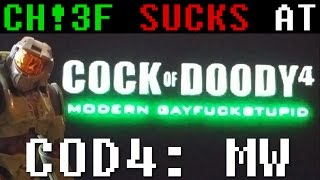 Master Chief Sucks at Call of Duty 4: Modern Warfare