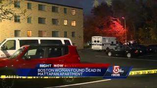 Woman found dead inside Boston apartment