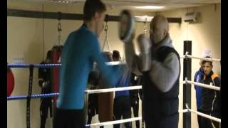 Stags first team players take to the Boxing ring
