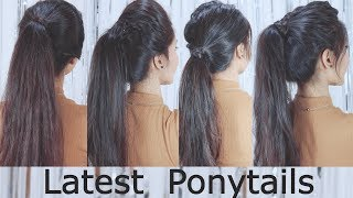 Latest Ponytail Hairstyle 2019 For Girls   Hair Style Girl   Best Hairstyles For Long Hair