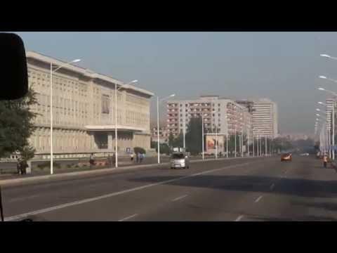 Preparing for the Kim Il Sung and Kim Jong Il Mausoleum in North Korea