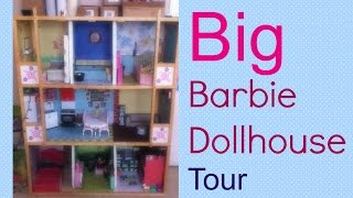 Big Barbie Dollhouse Tour!