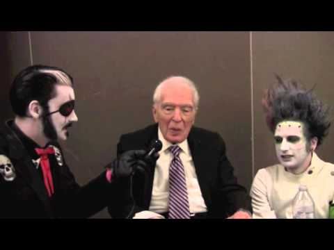 Uncle Eerie and Dr.Z Angus Scrimm  Mad Monster Oct 3rd 2014