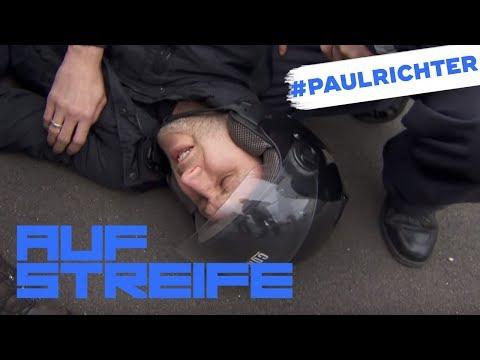 Schlimmer Roller Unfall: Wer hat ihn umgehauen? | #PaulRichterTag | Auf Streife | SAT.1 TV
