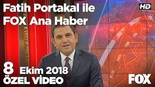 Erdoğan: Teröre bulaşanlar seçilirse kayyum atarız! 8 Ekim 2018 Fatih Portakal ile FOX Ana Haber