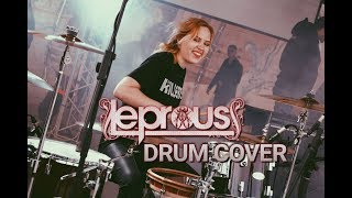 LEPROUS - STUCK | Drum cover by Christine