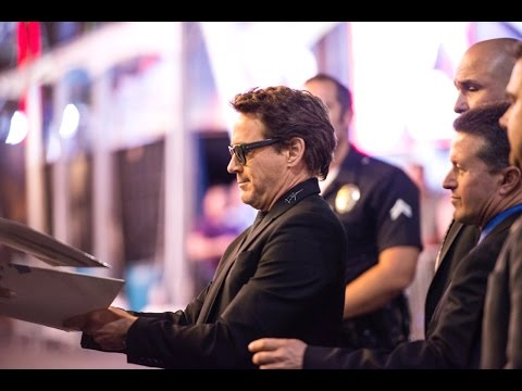 Robert Downey Jr. at the World premiere of 'Doctor Strange' - 20/10/2016