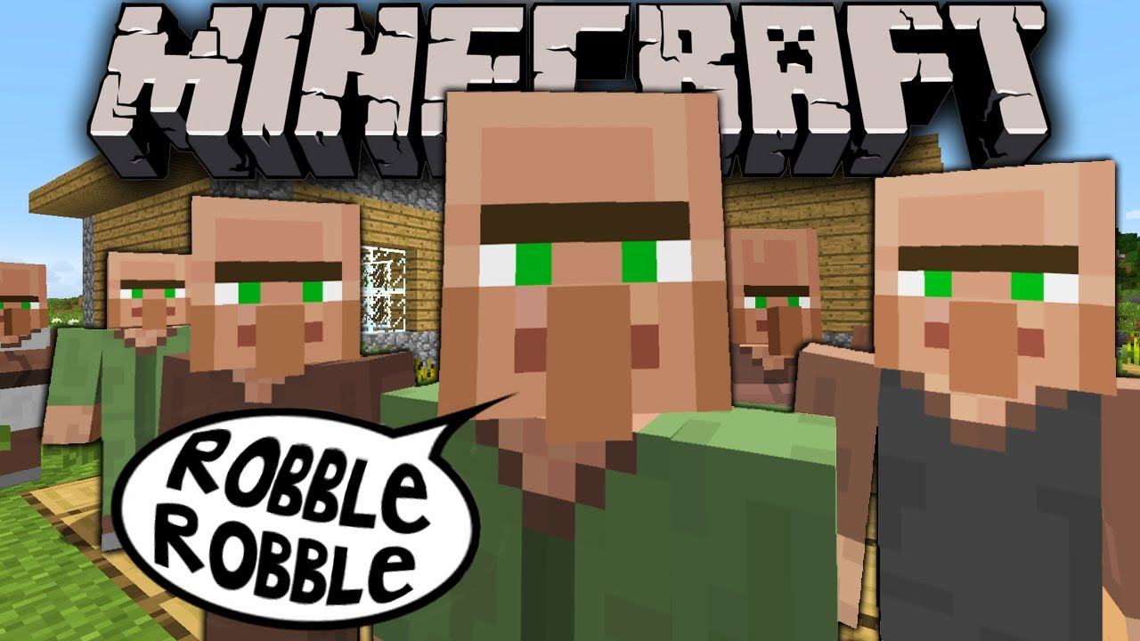 Minecraft Villager Invasion April Fools Prank Skin Change Sound