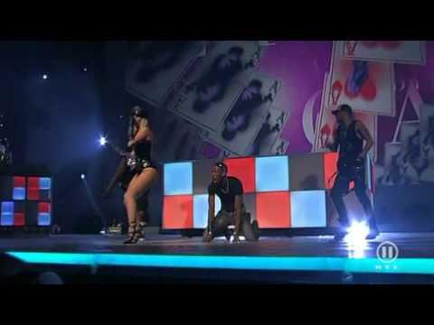 Lady Gaga Poker Face  Live 2009 RTL 2