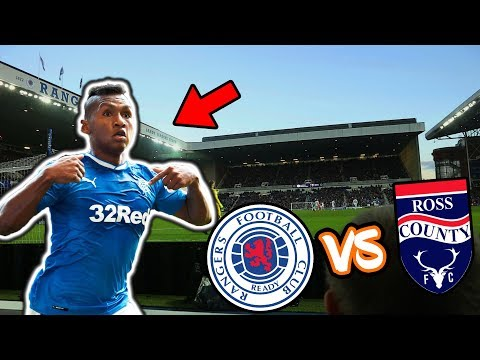 RANGERS 2-1 ROSS COUNTY! (MATCHDAY VLOG) | ALFREDO MORELOS IS BACK!
