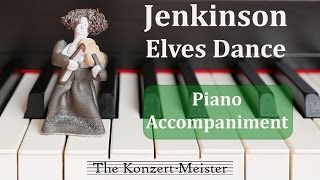 """How to play on violin """"Elves Dance"""" by Jenkinson [Piano Accompaniment]"""