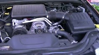 new project the black beast repairing a 2001 wj grand cherokee 4 7 v8 episode 1