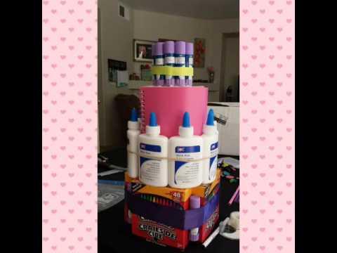 "Teacher Appreciation Supply ""cake"""