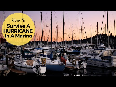 Preparing our boat for a hurricane (Video 65) - Sailing Britican