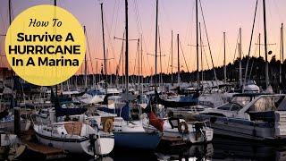 Preparing our boat for a hurricane (Video 65) - Sailing Britican