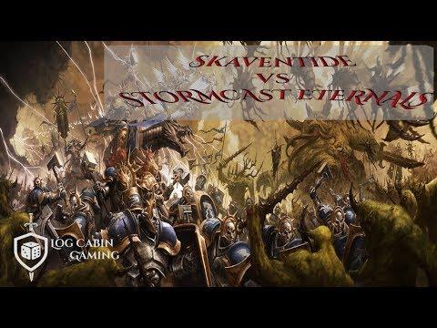Warhammer Age Of Sigmar Battle Report: Skaventide vs Stormcast Eternals (31/07/2019)